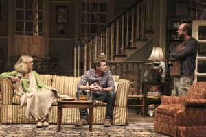 Blythe Danner, Scott Foley and Eric Lange in THE COUNTRY HOUSE