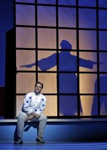 Brian Jagde as Pinkerton in San Francisco Opera's MADAMA BUTTERFLY