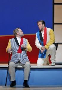 Brian Mulligan (Sharpless) and Brian Jagde (Pinkerton) in SF Opera's MADAMA BUTTERFLY.