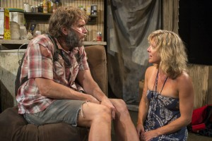 Darrell W. Cox & Lia Mortensen in ANNAPURNA, Profiles Theatre in Chicago