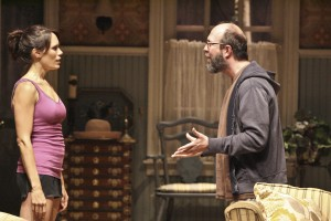 Emily Swallow and Eric Lange in THE COUNTRY HOUSE