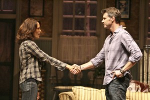 Emily Swallow and Scott Foley in THE COUNTRY HOUSE