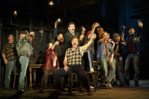Jimmy Nail and the cast of THE LAST SHIP, pre-Broadway in Chicago. Photo by Joan Marcus