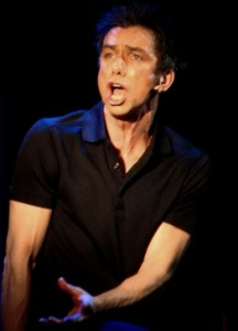 Jon Peterson as Anthony Newley in ...HE WROTE GOOD SONGS