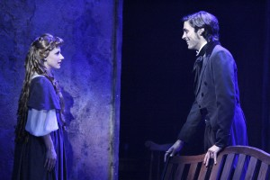Kimberly Hessler and Nathaniel Irvin in the LA MIRADA THEATRE FOR THE PERFORMING ARTS-McCOY RIGBY ENTERTAINMENT production of LES MISERABLES