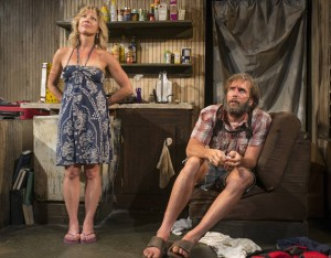 Lia Mortensen and Darrell W. Cox in ANNAPURNA, Profiles Theatre in Chicago