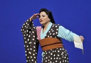 Patricia Racette (Cio-Cio-San) in Act II of SF Opera's MADAMA BUTTERFLY.