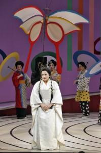 Patricia Racette (Cio-Cio-San) in SF Opera's MADAMA BUTTERFLY.