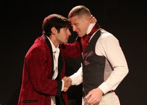 Philip Orazio and Boone Platt in THE IMPORTANCE OF BEING EARNEST.