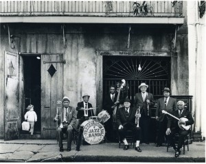 Preservation Hall Jazz Band 1966 - photo by Ralph Cowan.