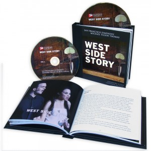 Product Open - SF Symphony's new concert recording of WEST SIDE STORY.