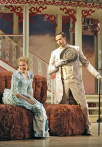 SF Opera's production of SHOW BOAT. Heidi Stober (Magnolia Hawks) and Michael Todd Simpson (Gaylord Ravenal).