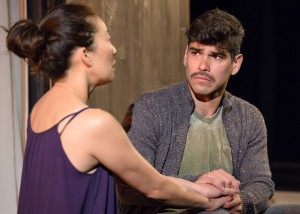 Sandra Oh and Raúl Castillo star in DEATH AND THE MAIDEN at Victory Gardens Theatre in Chicago.