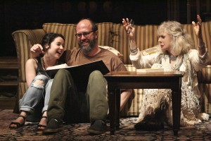 Sarah Steele, Eric Lange, and Blythe Danner in THE COUNTRY HOUSE
