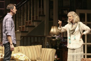 Scott Foley and Blythe Danner in THE COUNTRY HOUSE