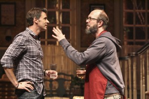 Scott Foley and Eric Lange in THE COUNTRY HOUSE
