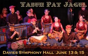 TABUH PAT JAGUL at Davies Symphony Hall