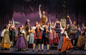 The cast of BRIGADOON at the Goodman Theatre.