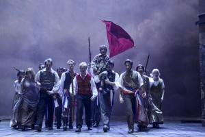The company of LA MIRADA THEATRE FOR THE PERFORMING ARTS-McCOY RIGBY ENTERTAINMENT production of LES MISERABLES