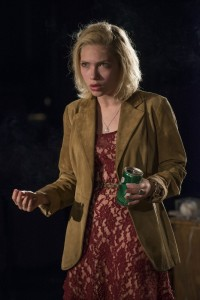 Jessica (Tavi Gevinson) in Steppenwolf Theatre Company's production of This Is Our Youth by Kenneth Lonergan.