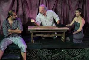 Brian Abraham, Ted Barton, Katie Pelensky.