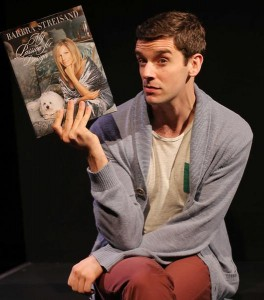 """Michael Urie in the West Coast premiere of """"Buyer & Cellar,"""" written by Jonathan Tolins, at the Center Theatre Group/Mark Taper Forum."""