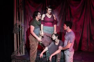 Christopher Salazar, Rebekah Tripp, Zach Kanner, John McKetta.