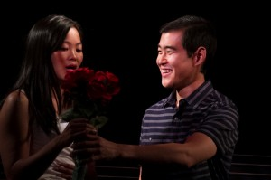 Dana Lau & Albert Park in JADE HEART at Moxie Theatre. Photo by Daren Scott.