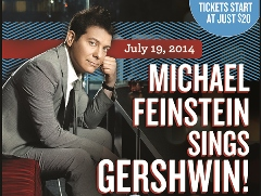 Post image for Los Angeles Music Review: MICHAEL FEINSTEIN SINGS GERSHWIN (Pasadena POPS)