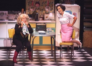 Sally Struthers and Carter Calvert in ALWAYS, PATSY CLINE