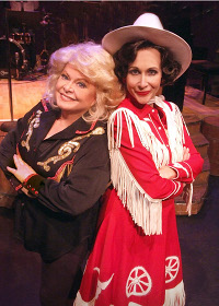 Sally Struthers and Carter Calvert in ALWAYS, PATSY CLINE.