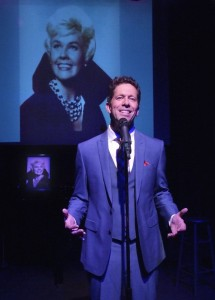 Scott Dreier in DORIS AND ME, The Doris Day Songbook at the El Portal Theatre. Photo by Ed Krieger.