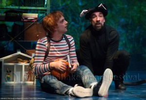 A WRINKLE IN TIME at Oregon Shakespeare Festival. Joe Wegner, U. Jonathan Toppo.