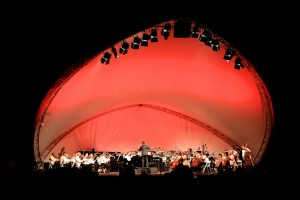 HOORAY FOR HOLLYWOOD with the Pasadena POPS and Michael Feinstein, Aug 16, 2014.