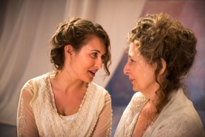 Kelsey Ritter and Marilyn Fox in Pacific Resident Theatre's THE CHERRY ORCHARD.
