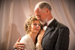 Marilyn Fox and Bruce French in Pacific Resident Theatre's THE CHERRY ORCHARD.
