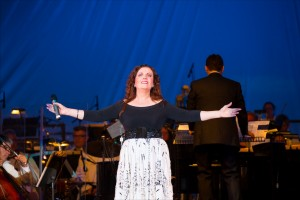 Maureen McGovern in HOORAY FOR HOLLYWOOD, Pasadena POPS and Michael Feinstein, Aug 16, 2014.