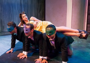 Scene from THE MAX FACTOR FACTOR, A New Musical Comedy at NoHo Arts Center.