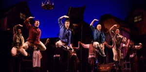 The ensemble in Light Opera Works' FIDDLER ON THE ROOF.