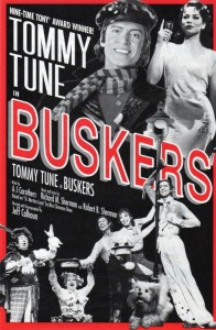 Tommy Tune in BUSKERS - POSTER