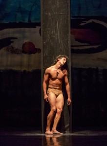 Alberto Velazquez in PRODIGAL SON - part of Joffrey Ballet's STORIES IN MOTION - photo by Cheryl Mann.