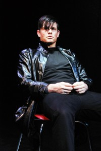 BEN CROWLEY in The Blank Theatre's THE WHY. Photo by Anne McGrath