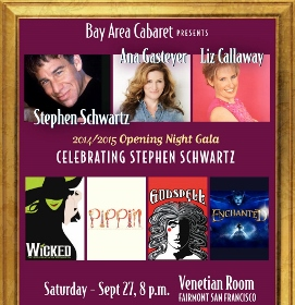 CELEBRATING STEPHEN SCHWARTZ - Poster