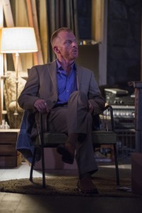 Dan Waller in Steppenwolf Theatre Company's production of The Night Alive by Conor McPherson, directed by Henry Wishcamper. Photo by Michael Brosilow.