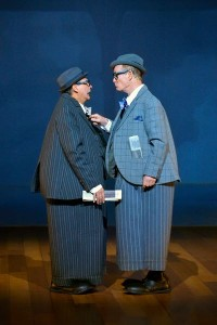 David Shiner and Bill Irwin in OLD HATS at A.C.T.'s Geary Theater - Photo by Kevin Berne.