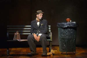 David Shiner in OLD HATS at A.C.T.'s Geary Theater - Photo by Kevin Berne.