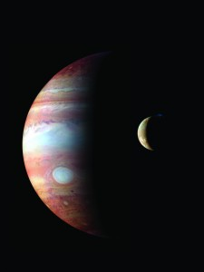 Jupiter and Io from The Planets—An HD Odyssey