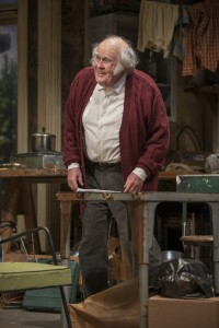 M. Emmet Walsh in Steppenwolf Theatre Company's production of The Night Alive by Conor McPherson, directed by Henry Wishcamper. Photo by Michael Brosilow.