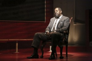 Michael A. Shepperd in CHOIR BOY at the Geffen Playhouse - photo by Michael Lamont.