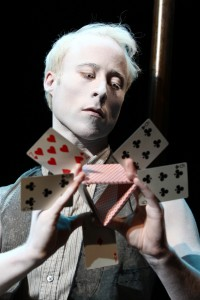 Nate Dendy in THE TEMPEST by William Shakespeare at South Coast Rep. Photo by Debora Robinson-SCR.